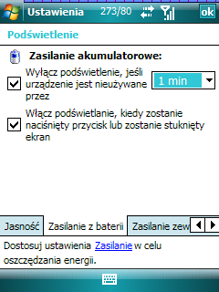 Polski lang do Windows Mobile 6.0 BETA