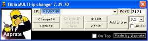 Tibia Multi IP Changer 8.42